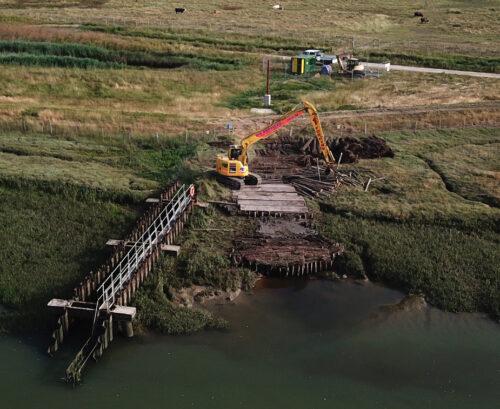 saltmarsh restoration project